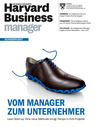 Leseprobe Heft 7/2013 - Harvard Business Manager